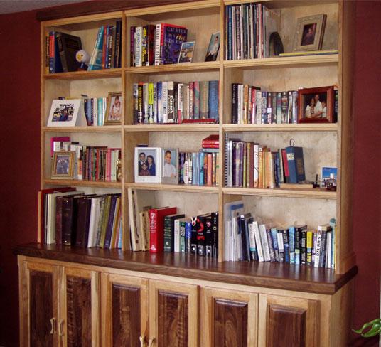Bookshelf & Base Cabinet